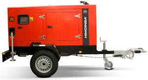 Generador trifásico de 40 KVA marca Himoinsa