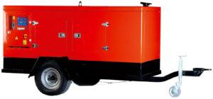 Generador trifásico de 60 KVA marca Himoinsa