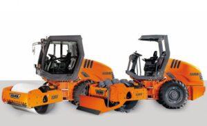 Rodillo compactador de tierras marca Hamm modelo 3205 (5)