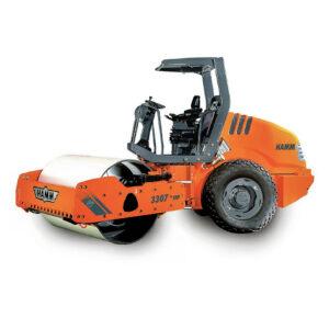 Rodillo compactador de tierras marca Hamm modelo 3307 (6)